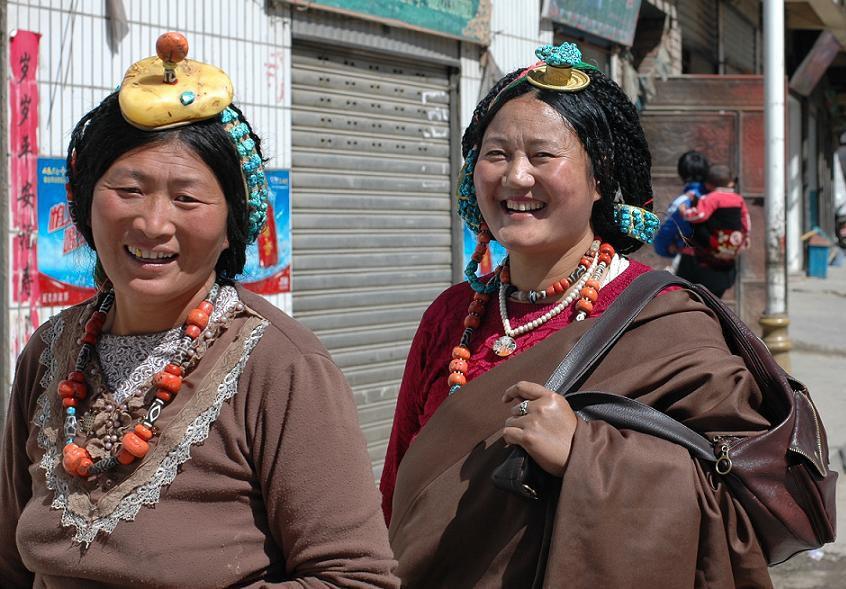 Osttibetische Frauen