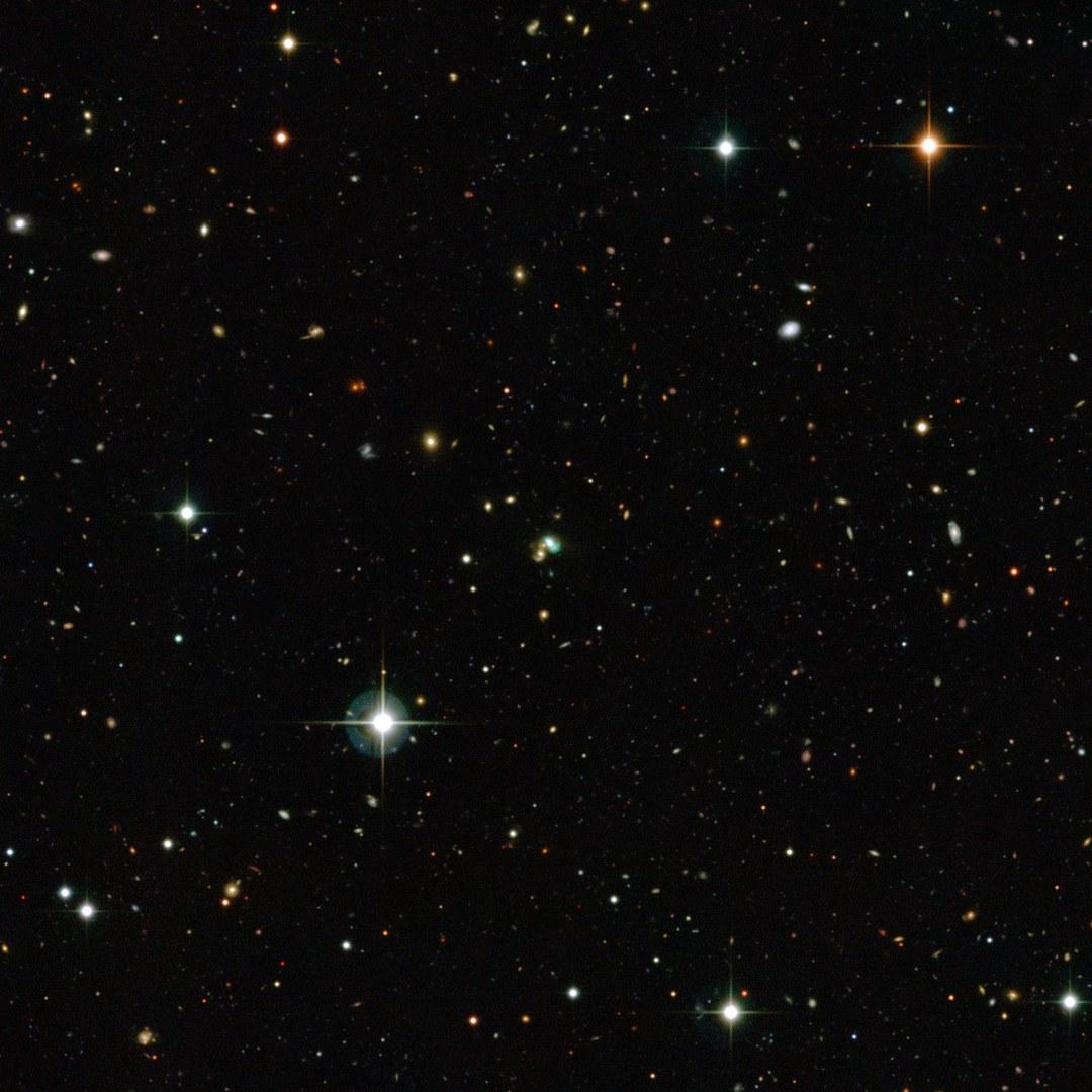 Grüne Bohnen Galaxie: