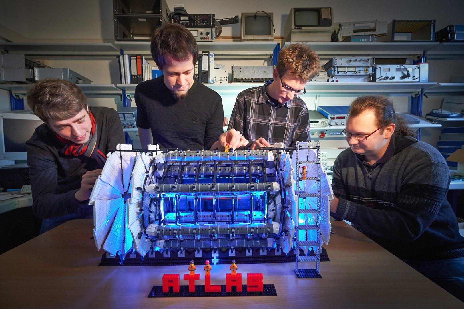 Das Modell des ATLAS-Detektors