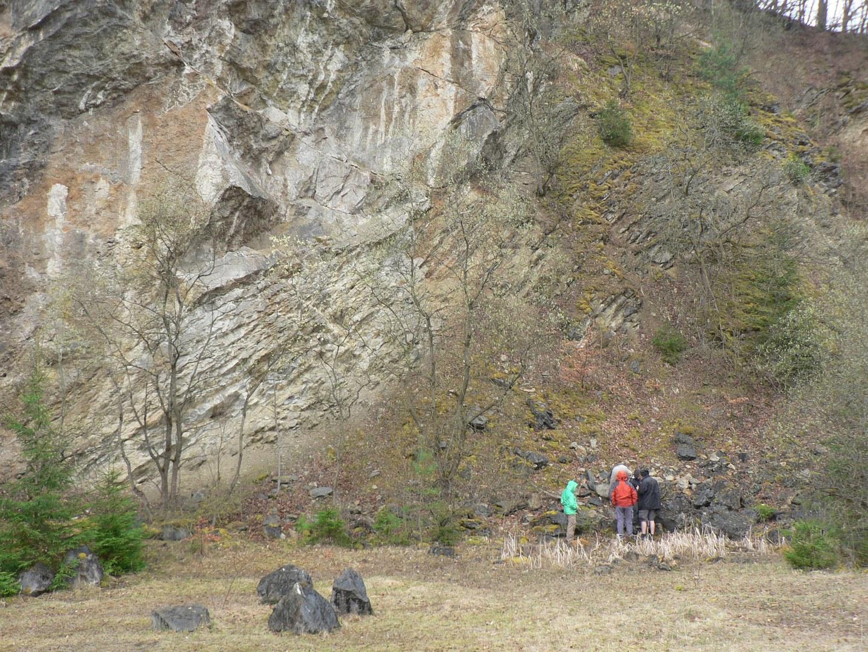 Stillgelegter Steinbruch bei Kerpen: