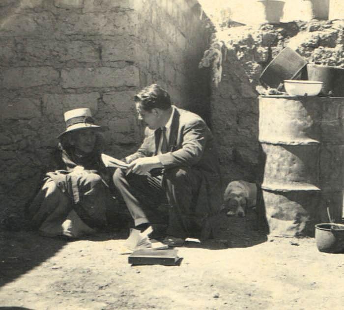 Das Bild zeigt den peruanischen Anthropologen Alejandro Vivanco Guerra (1910-1991)