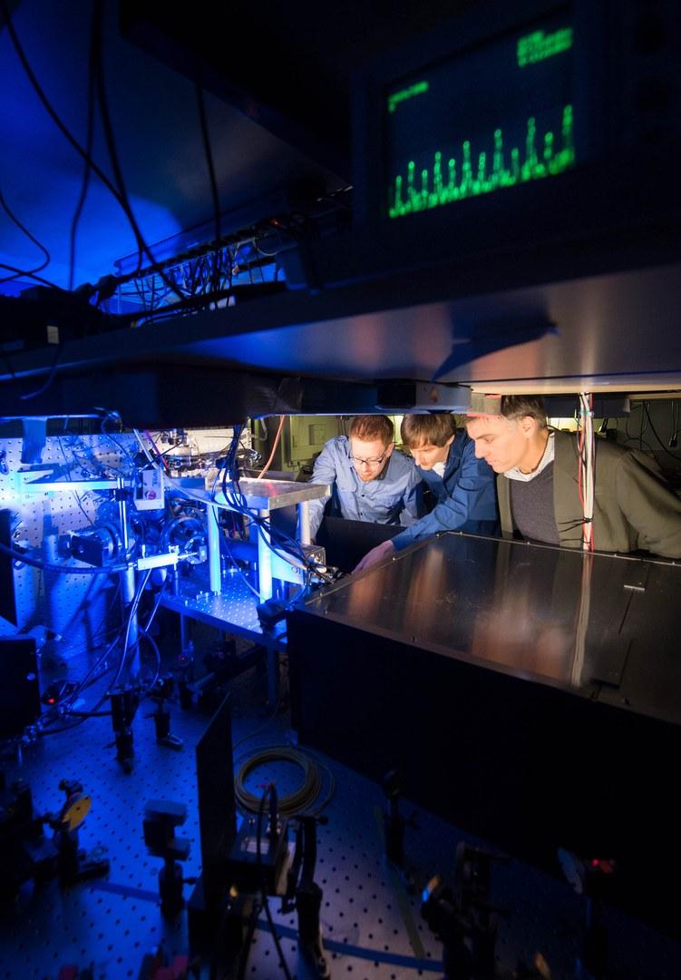 Experimente mit ultrakalten Rubidiumatomen: