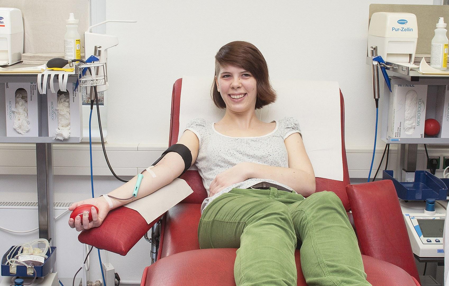 Aufruf zur Blutspende: