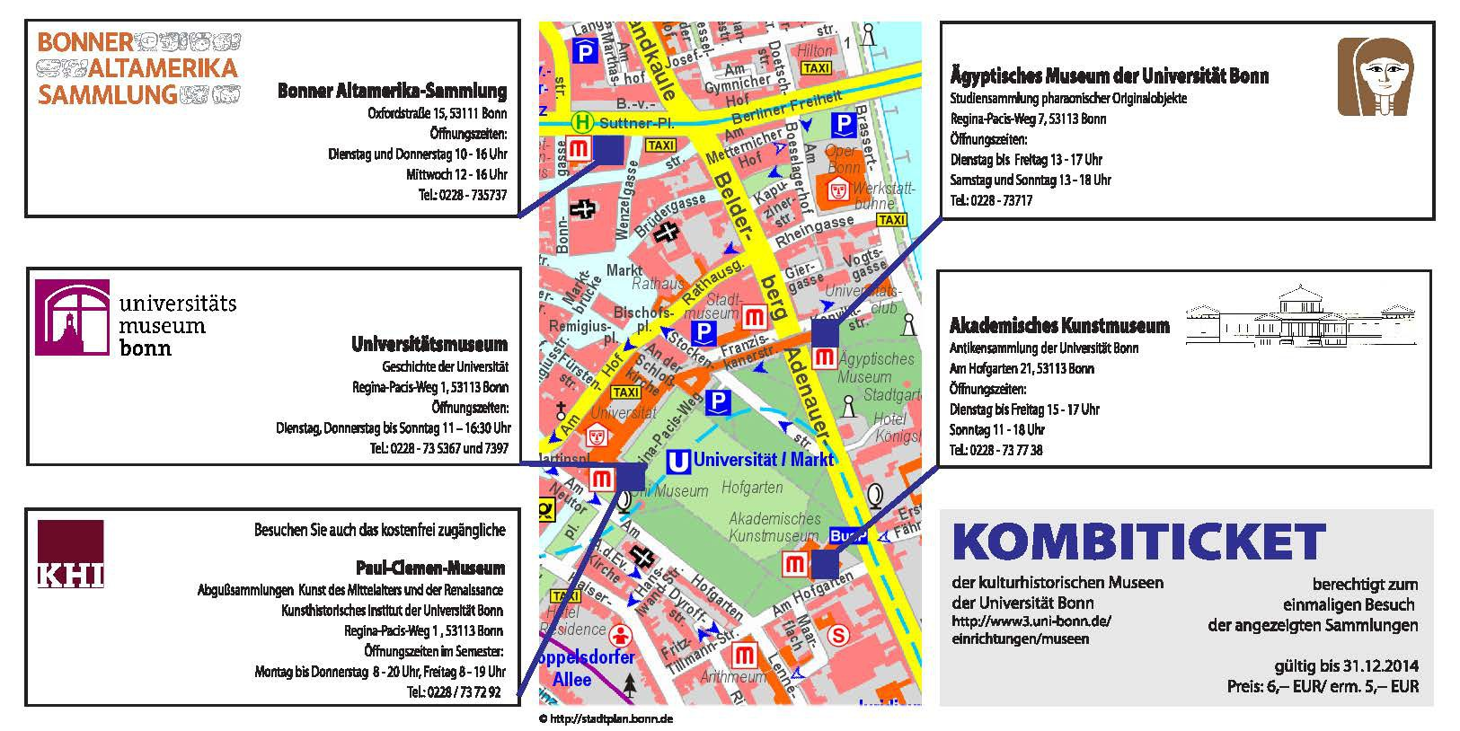 Die Rückseite des Kombi-Tickets