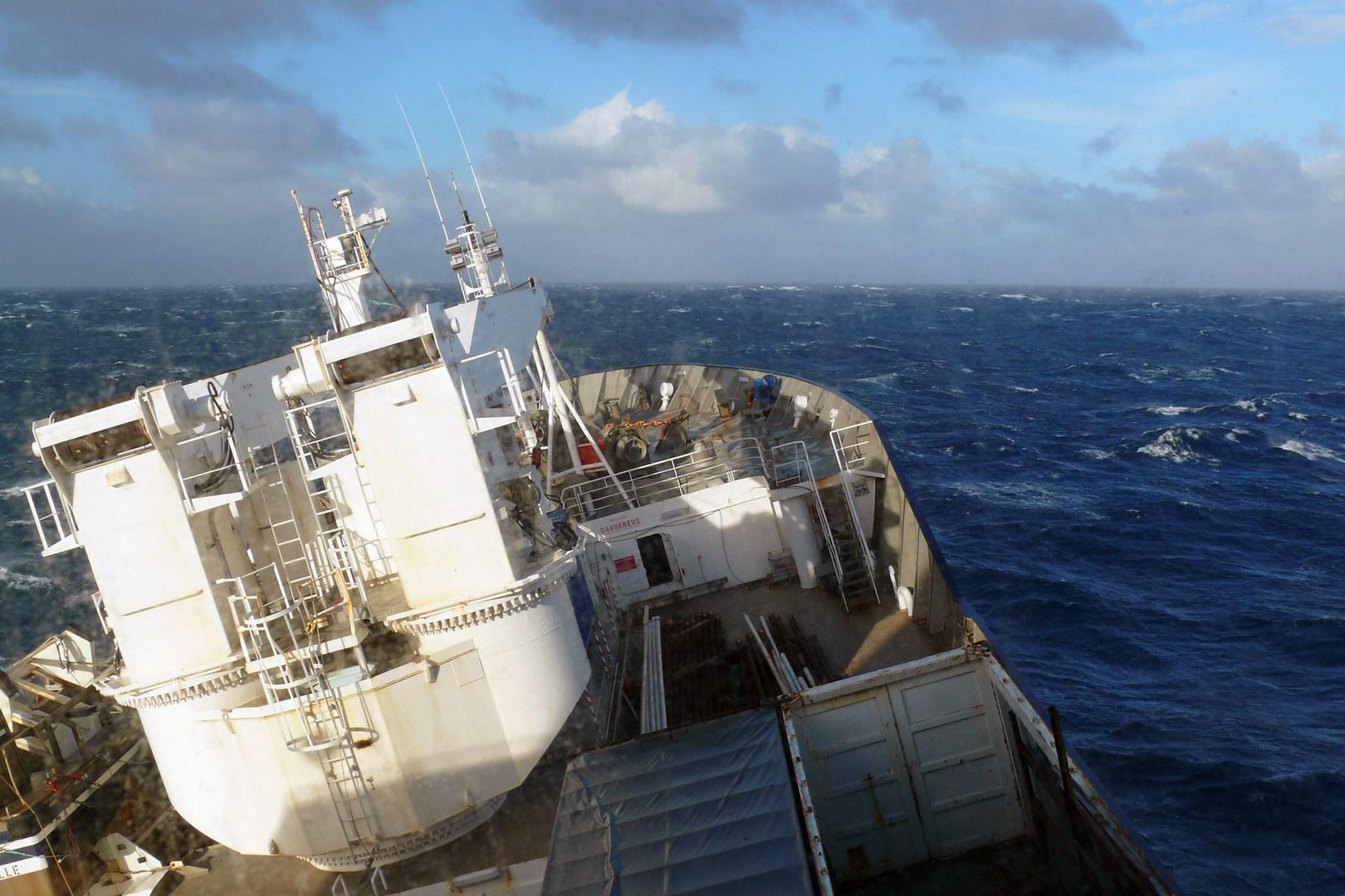 Das französische Forschungsschiff