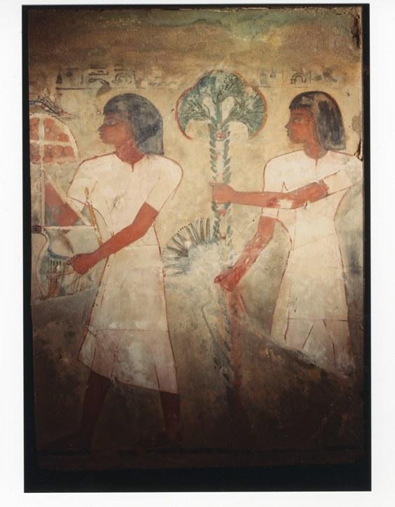 Malerei aus dem Grab des Sobekhotep