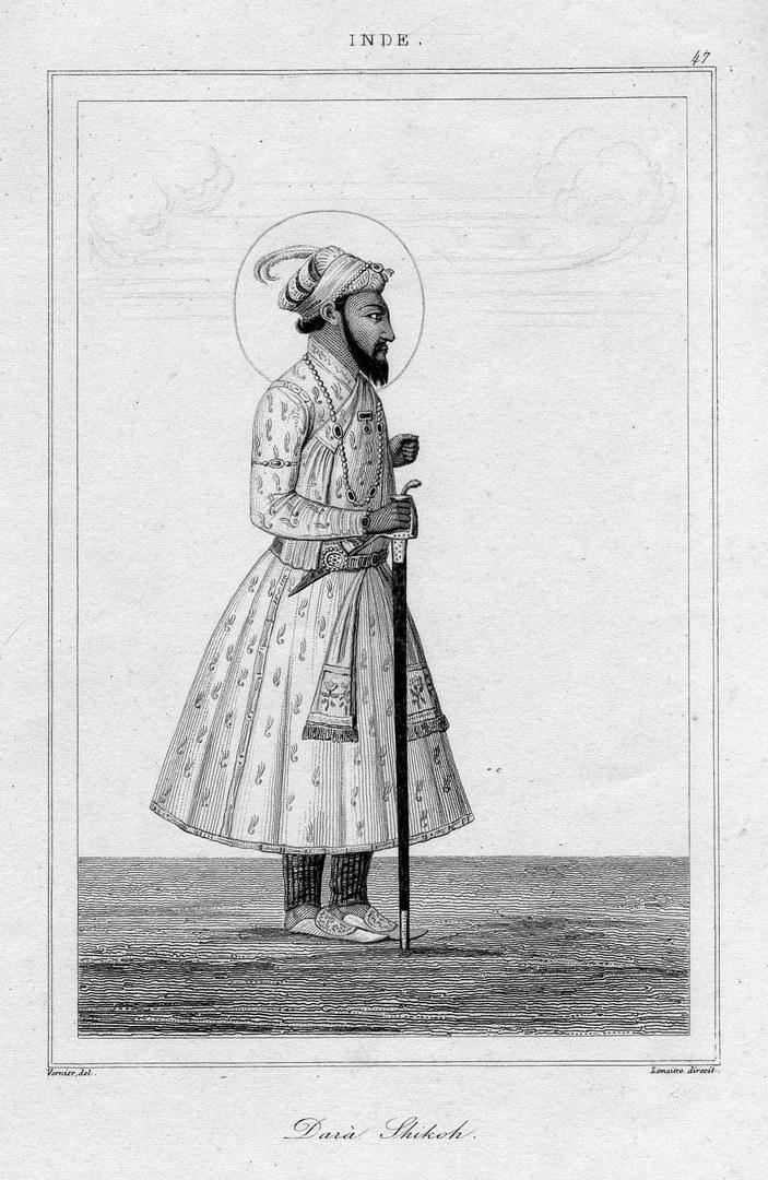 Dara Shikoh, ältester Sohn des Mogulherrschers Shah Jahan,