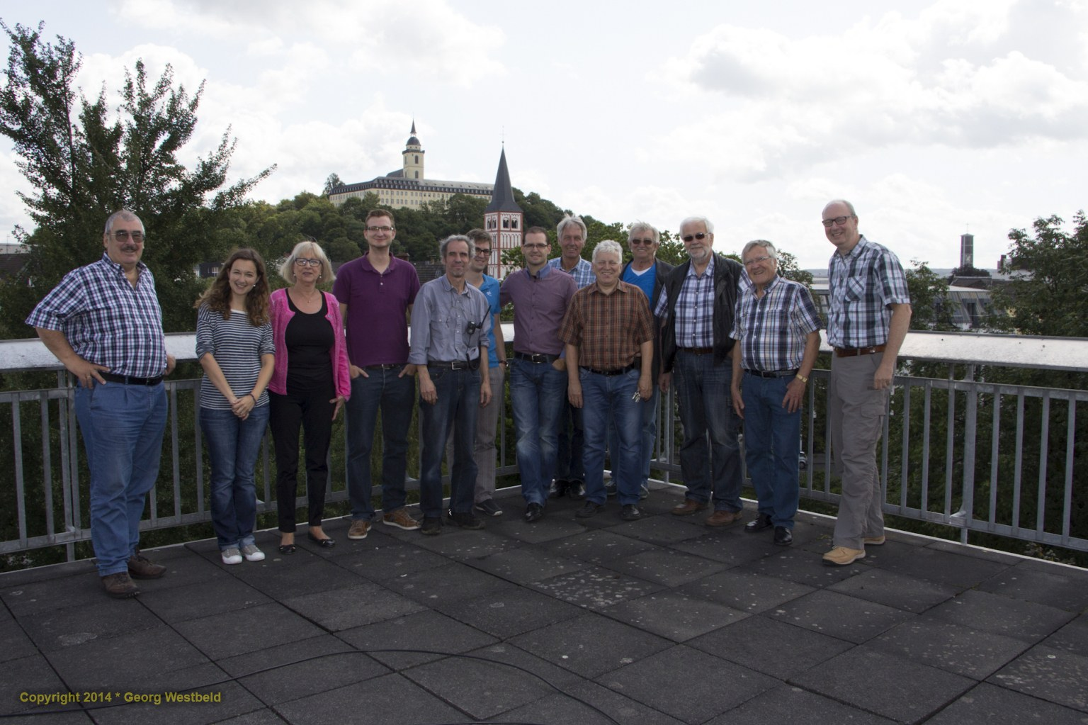 Die Teilnehmer des Events (von links):