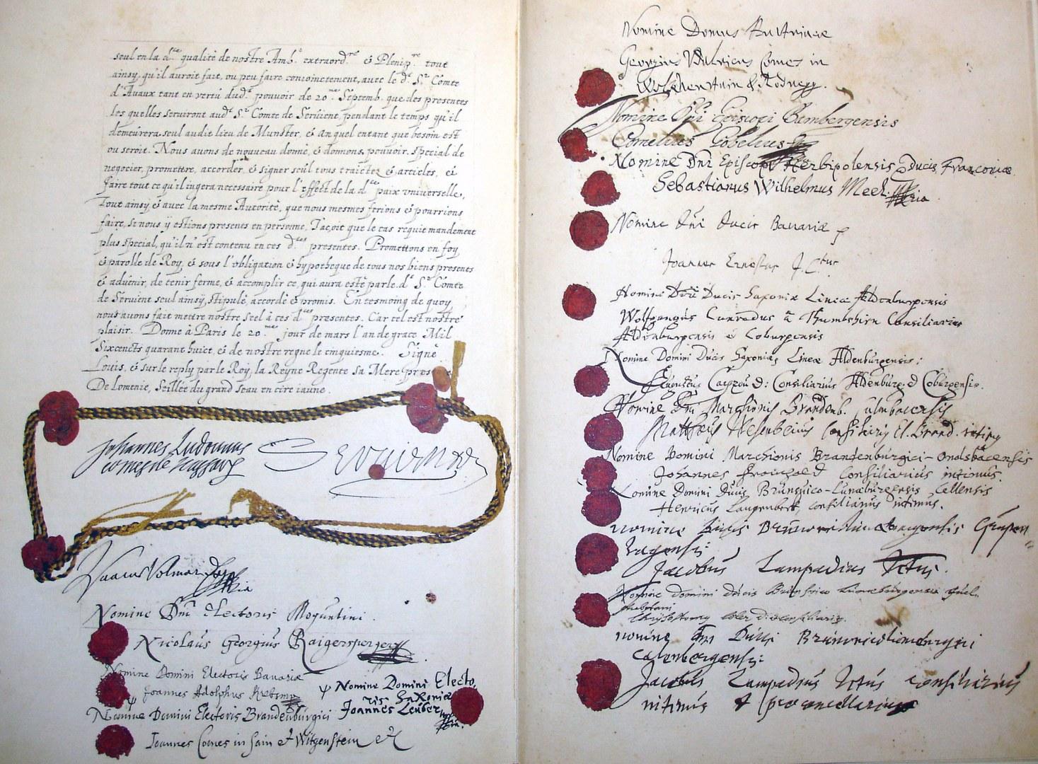 Unterschriftenseiten