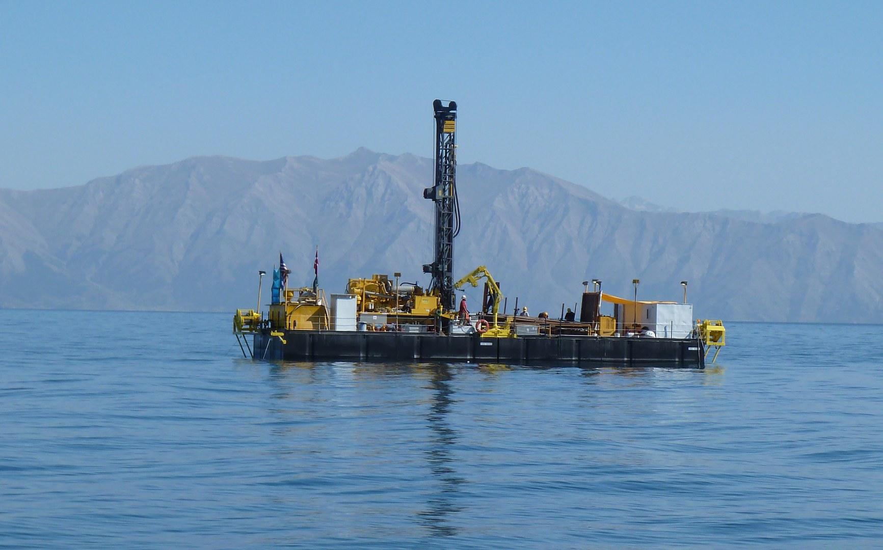 Bohrplattform (Deep Lake Drilling System):