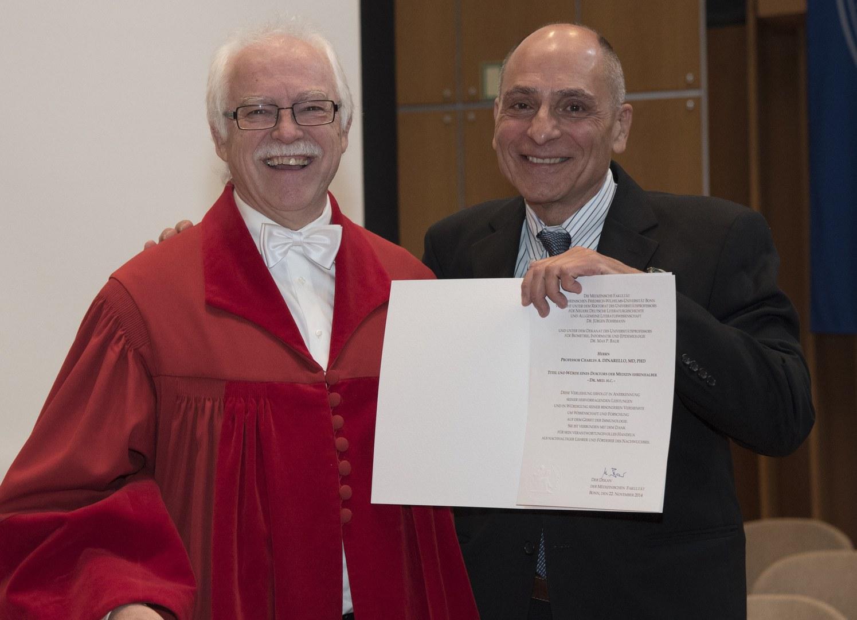 Verleihung der Ehrendoktorwürde: