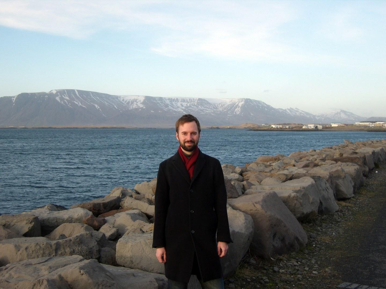 Dr. Reinhard Hennig in Island: