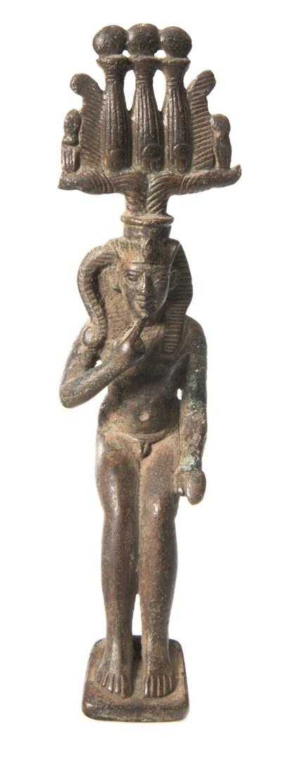 Bronzefigur des Harpokrates