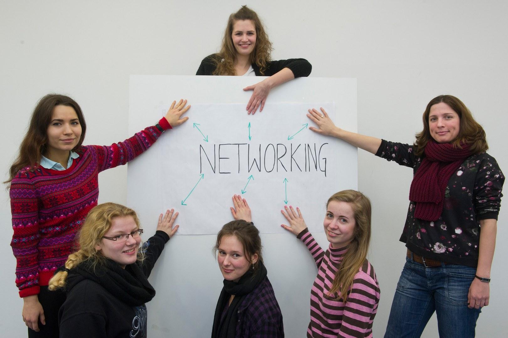 Ein gutes Netzwerk steigert die Karrierechancen: