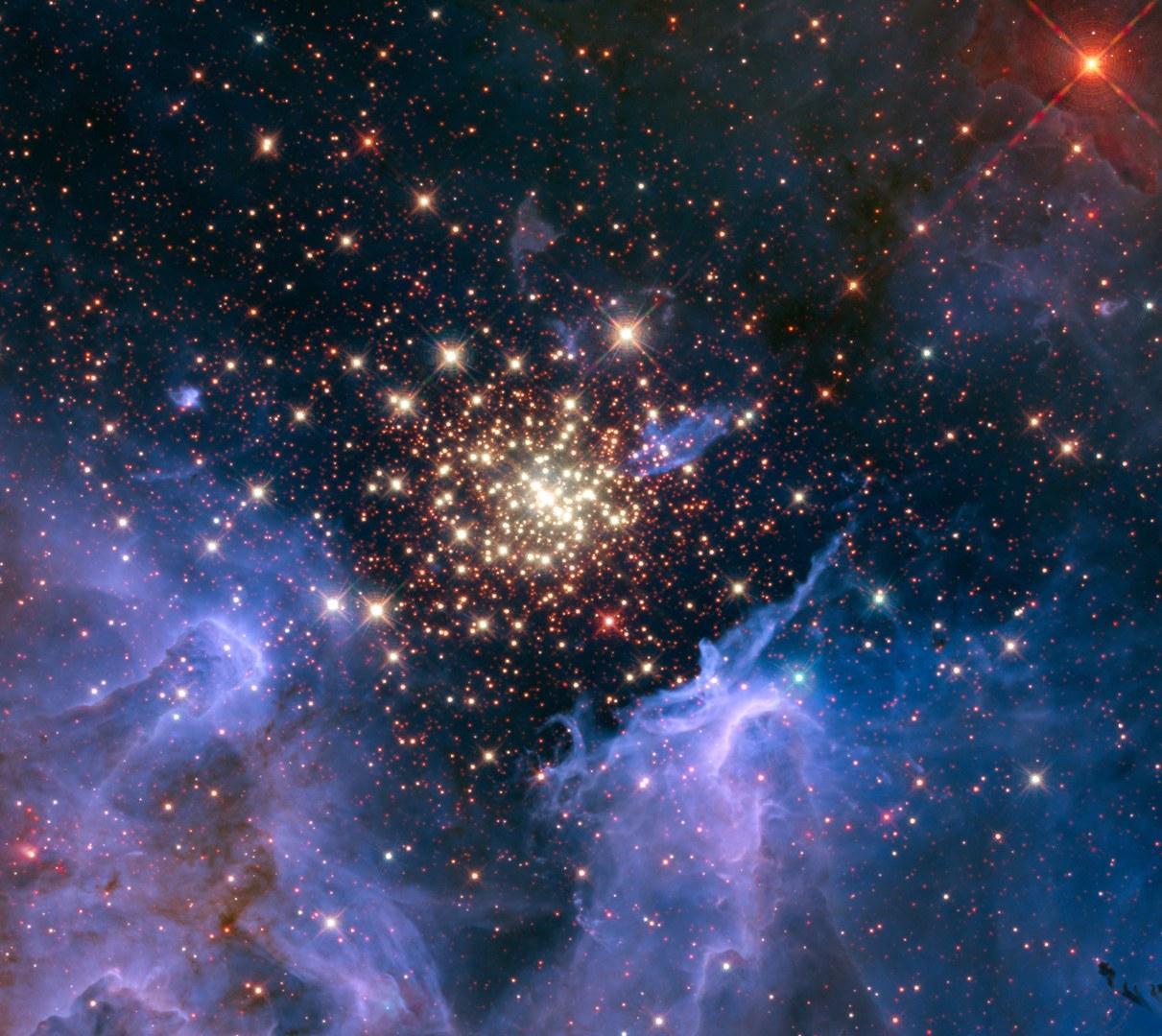 Der Sternhaufen NGC3603