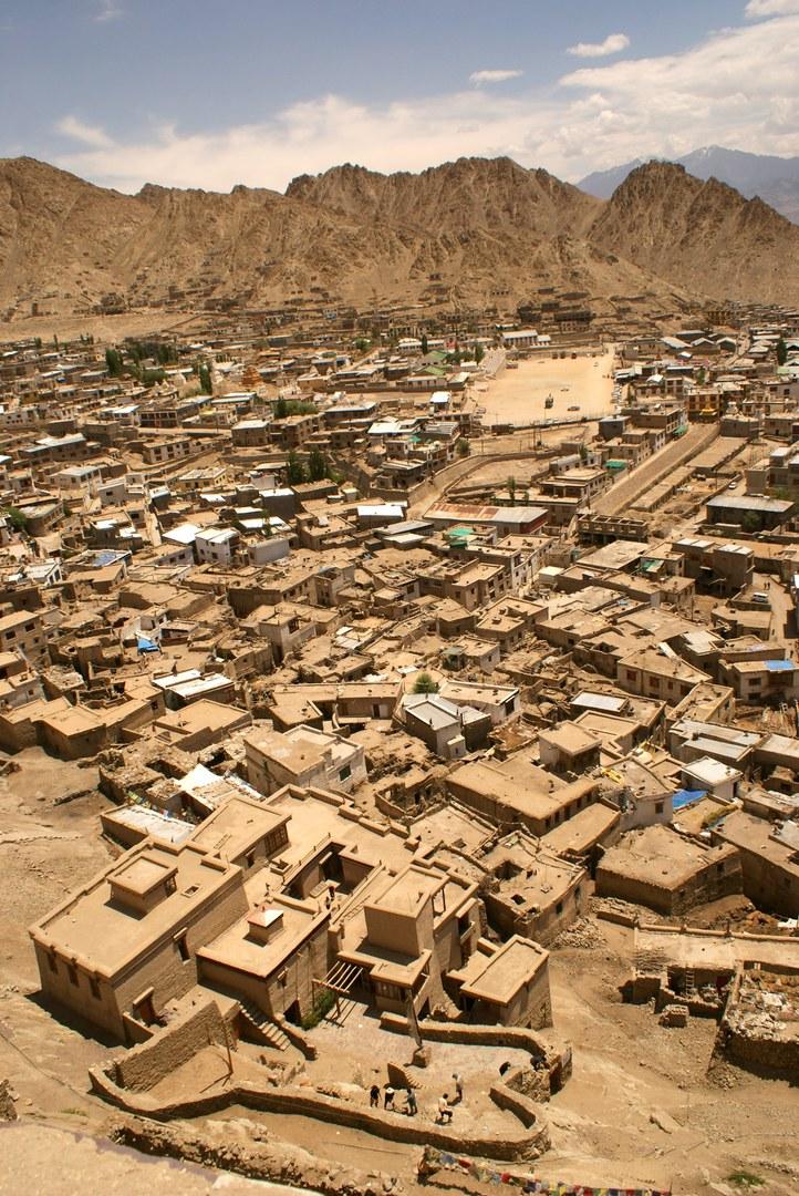 Leh in Ladakh im indischen Himalaya: