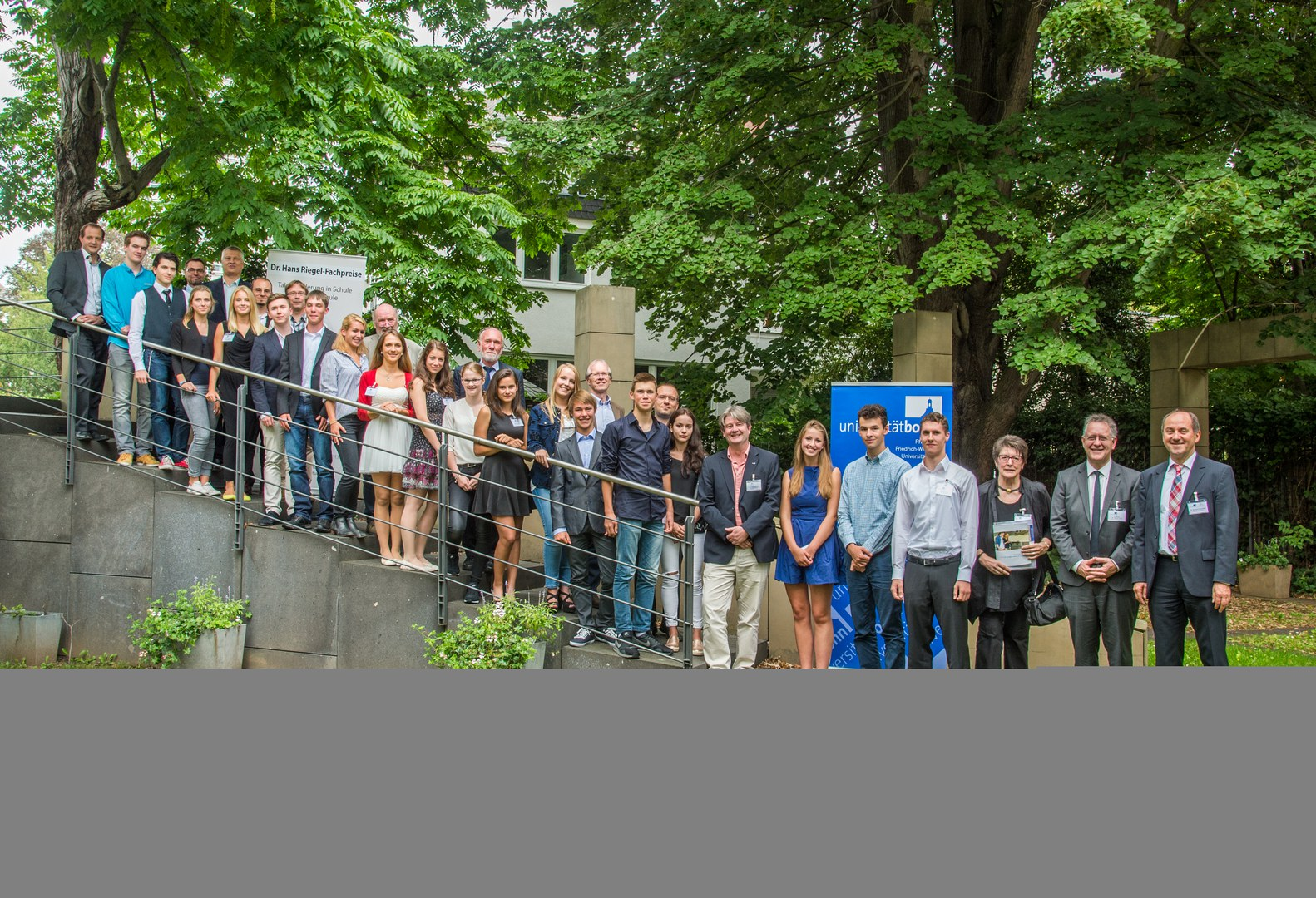 Die Preisträger der Dr. Hans Riegel-Fachpreise 2015
