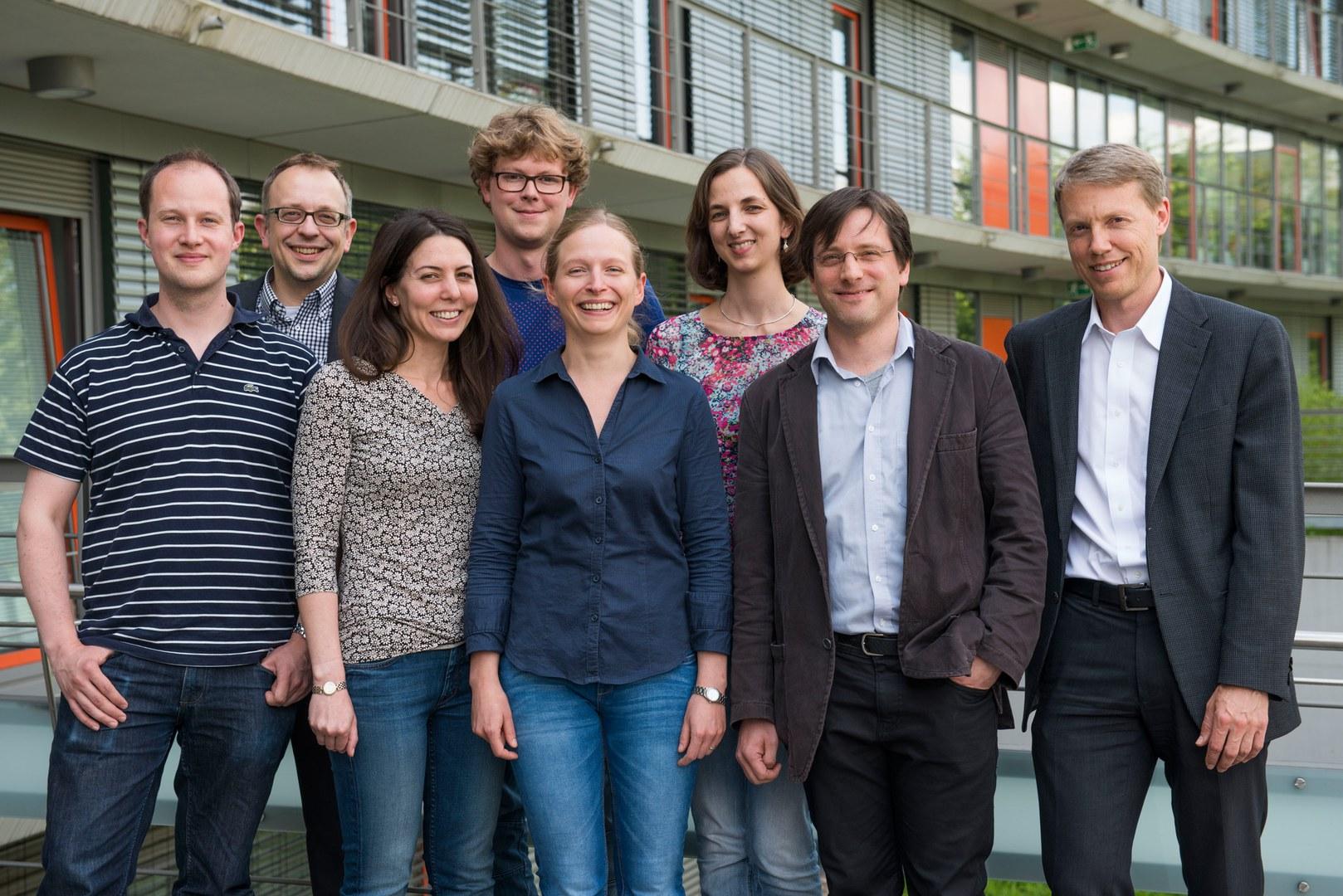 Das Forscherteam (von links nach rechts):