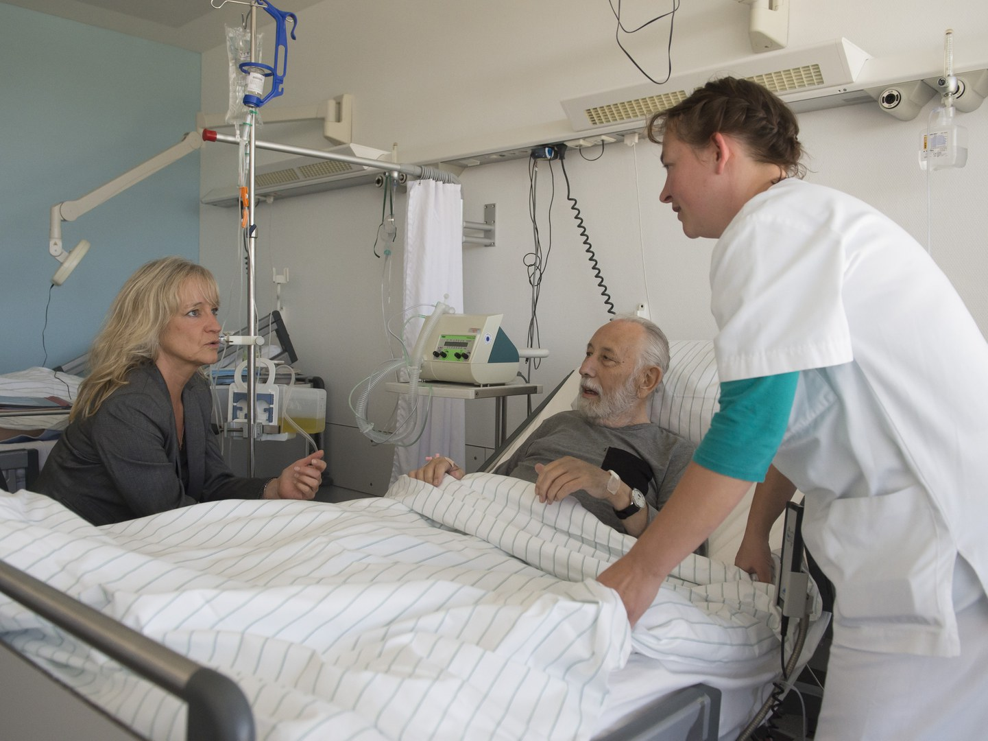 Pflegekurs am Krankenbett: