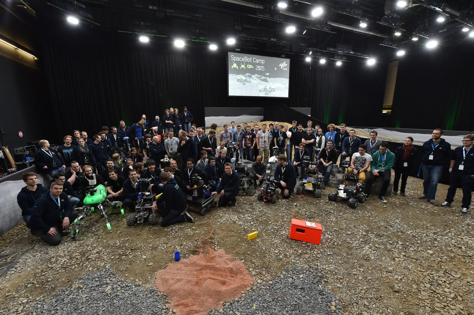 Das DLR SpaceBot Camp 2015: