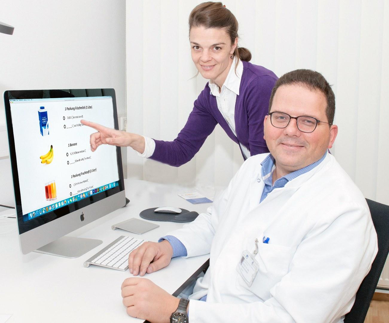 Prof. Dr. Dr. med. René Hurlemann und Nina Marsh