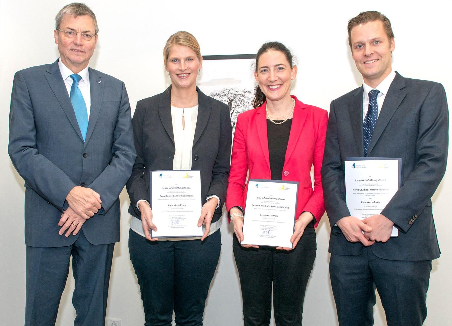 Verleihung des Lisec-Artz-Preises:
