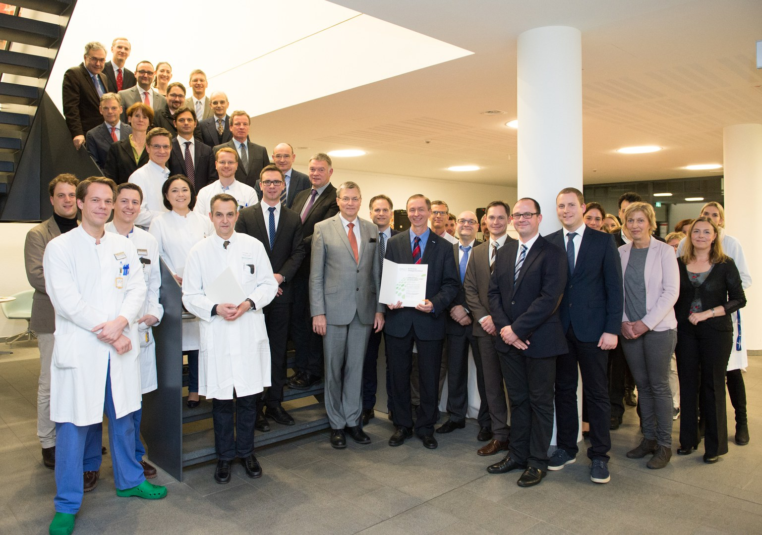 Feierliche Zertifikats-Übergabe der Deutschen Krebsgesellschaft (DKG):