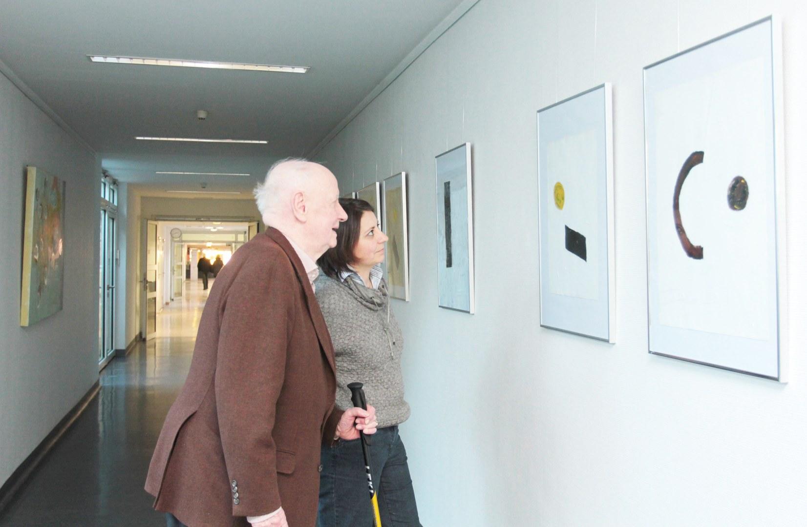 Kunstausstellung auf dem Venusberg: