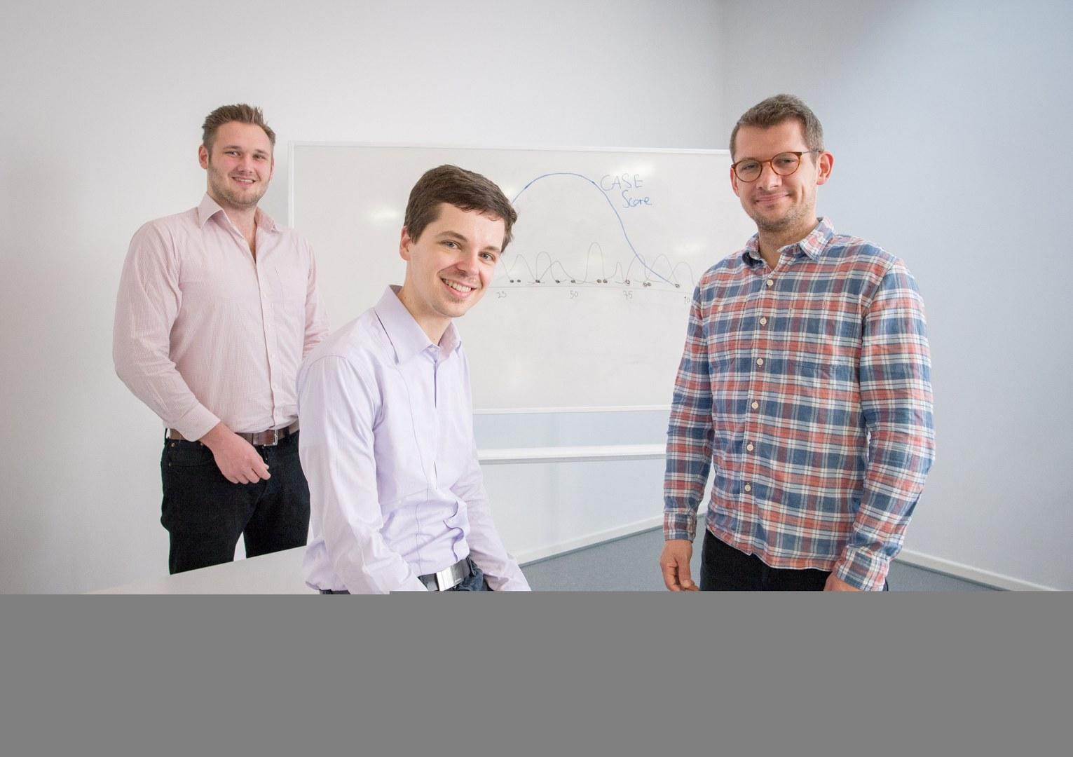 Das Team (von links):