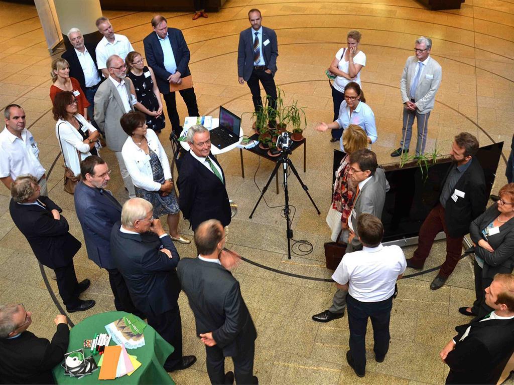 Im nordrhein-westfälischen Landtag: