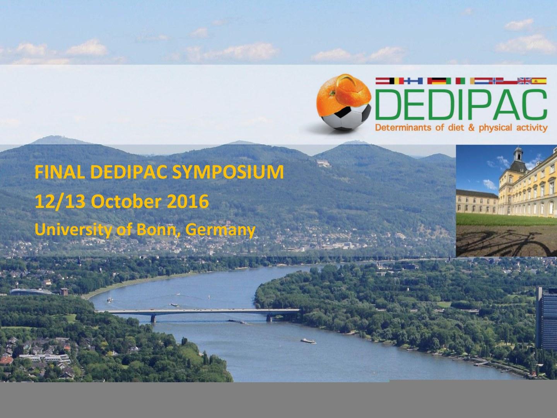 Die DEDIPAC-Tagung
