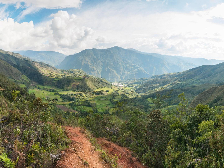 Das Tal von Kañaris im November 2014:
