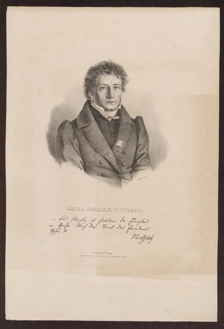 Universitätsprediger Carl Immanuel Nitzsch