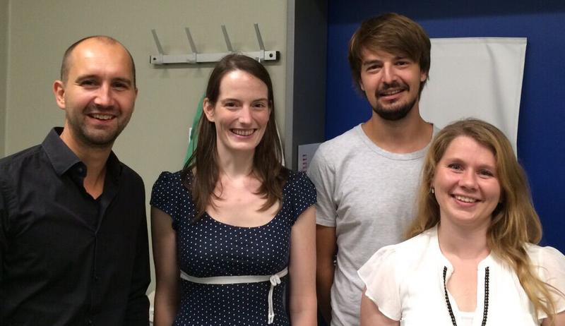 Das Forscherteam: