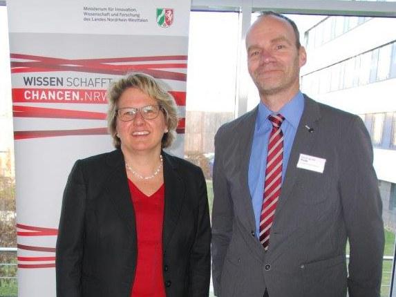 Wissenschaftsministerin Svenja Schulze