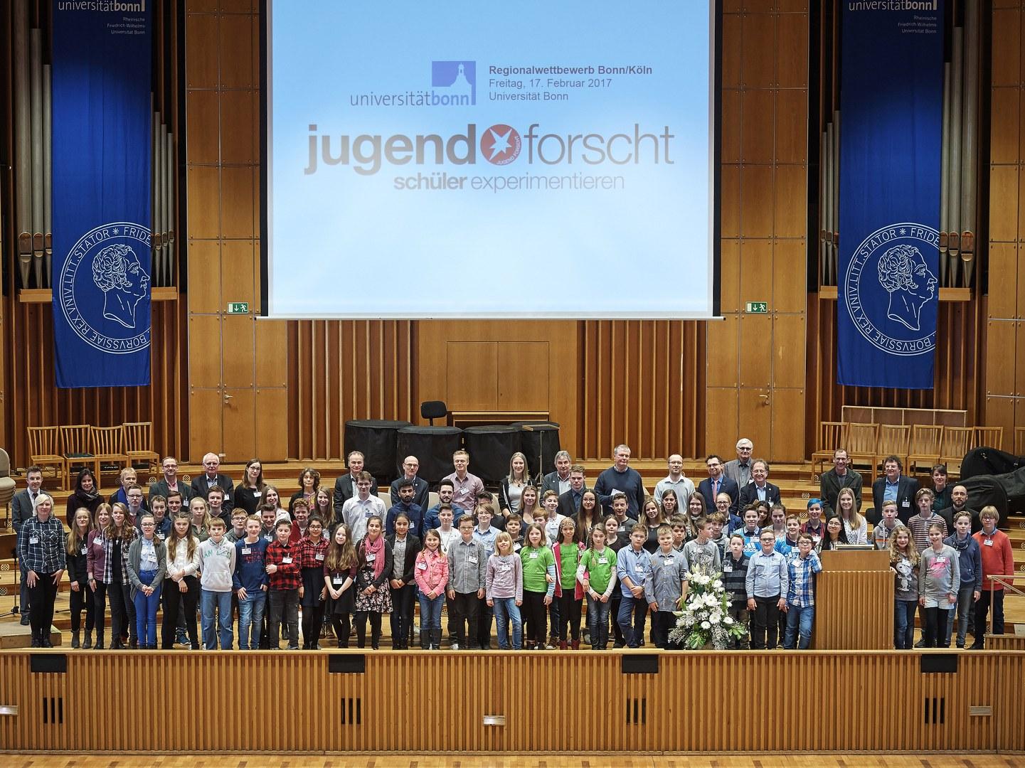 Regionalwettbewerb Bonn/Köln von Jugend forscht 2017