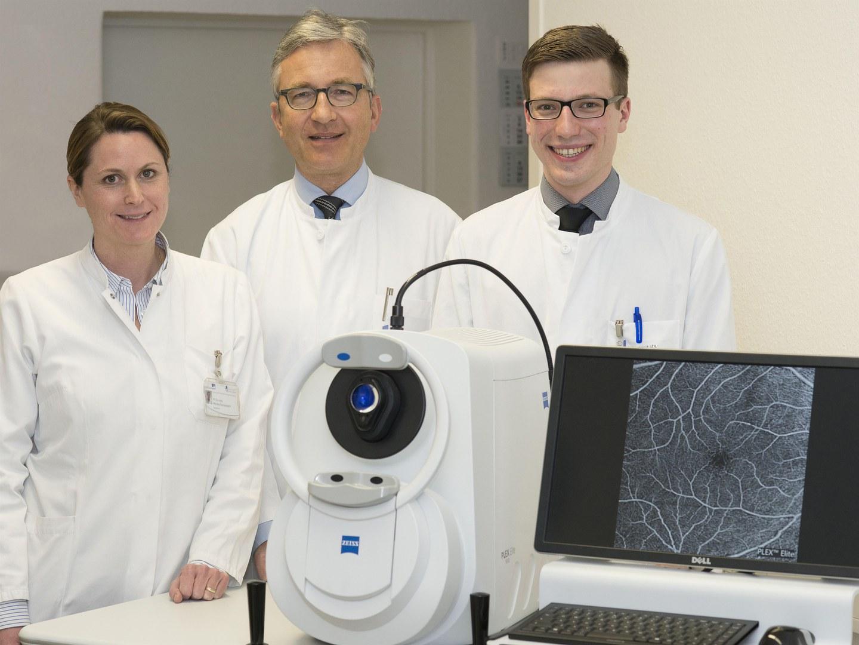 Optischer Kohärenztomograph (OCT) neuester Generation: