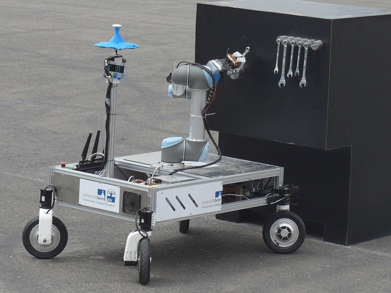 Dieser mobile Manipulationsroboter