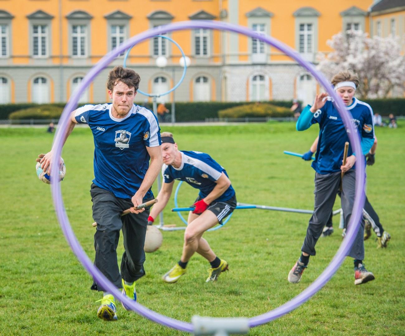 Quidditch im Hofgarten