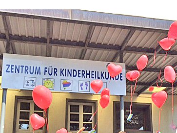 """Aktion """"Herz auf Reisen"""" für herzkranke Kinder:"""