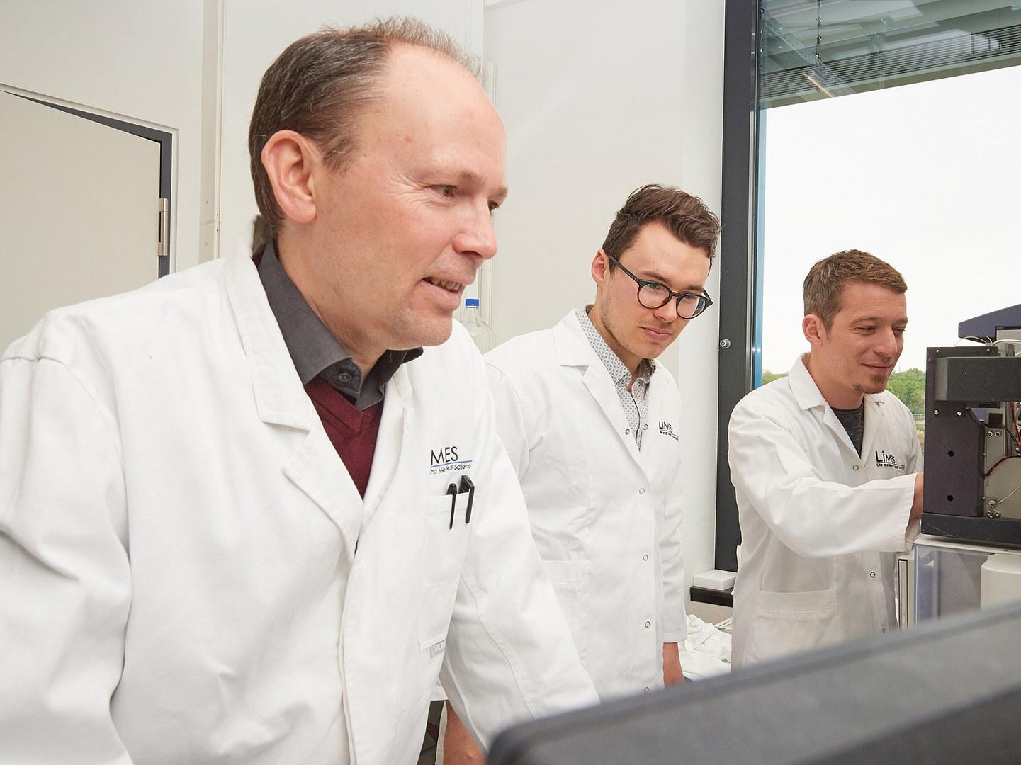 Im Labor (von links):