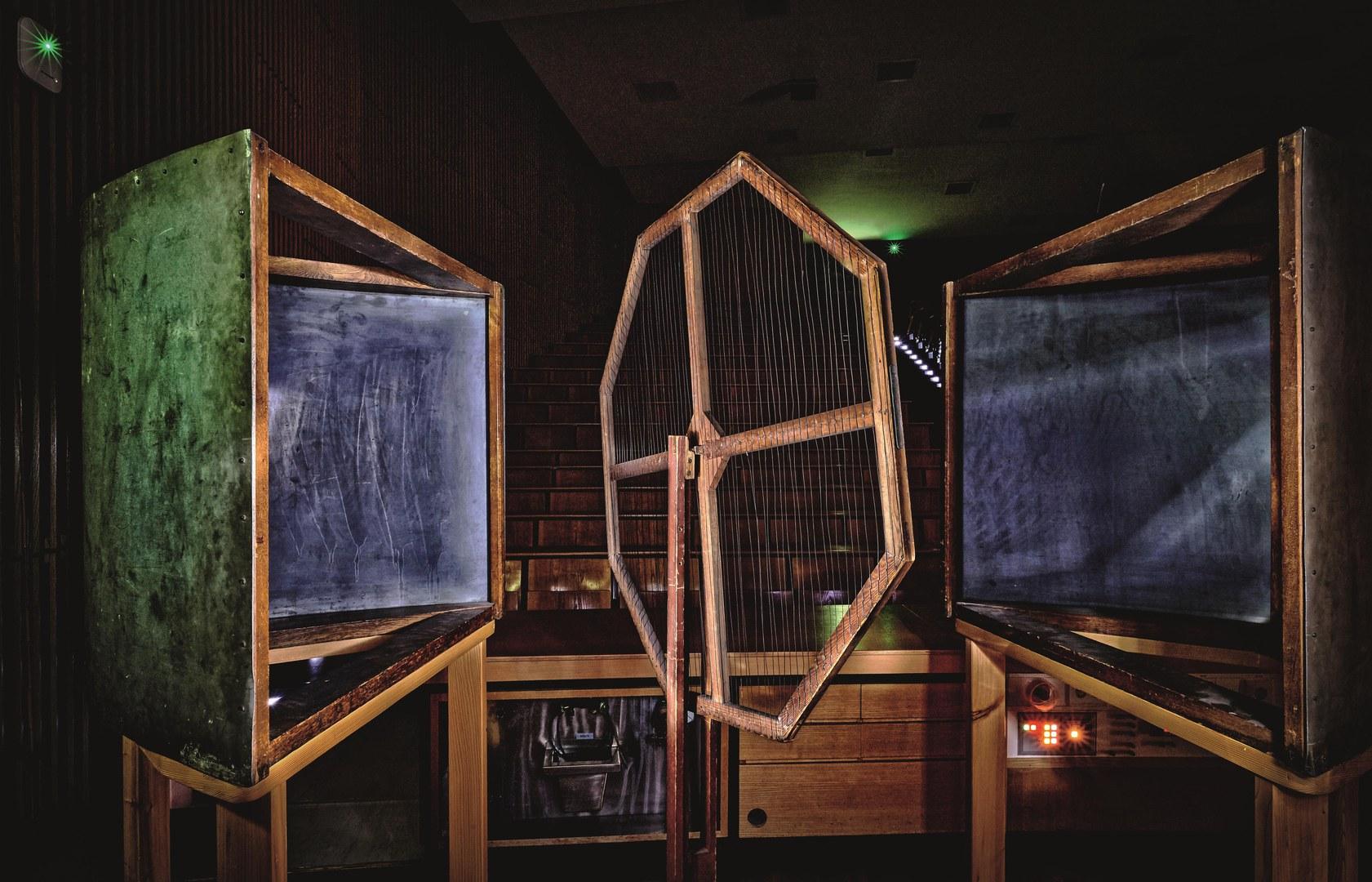 Apparatur von Heinrich Hertz, geboren 1857: