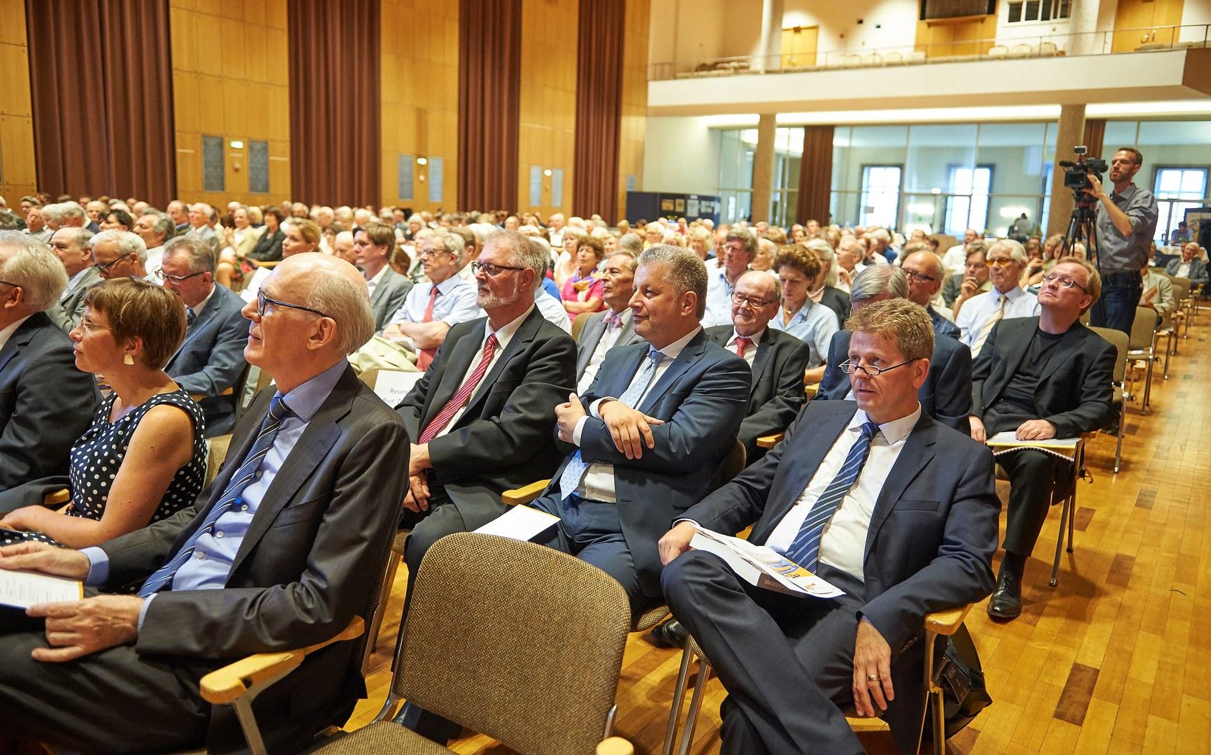 Unter den Gästen war auch Dr. Helge Matthiesen,
