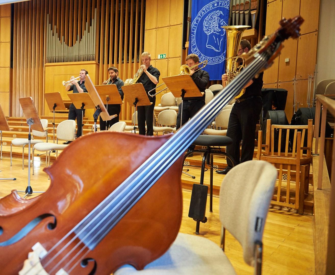 Verschiedene Ensembles der Universität Bonn