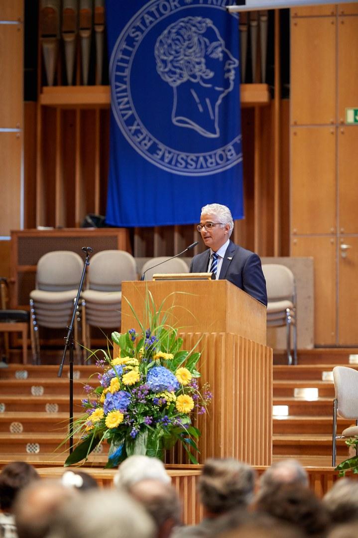 Oberbürgermeister Ashok-Alexander Sridharan
