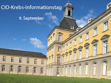 CIO-Krebs-Informationstag im Uni-Hauptgebäude: