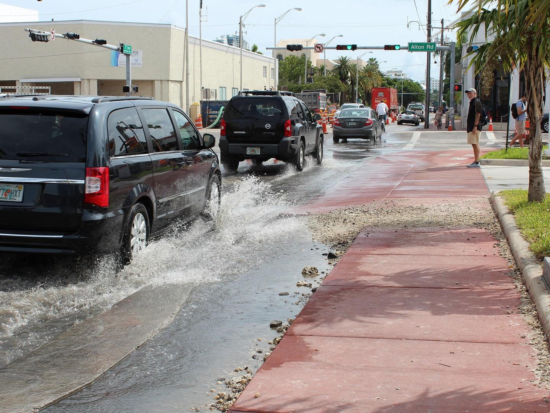 Lästige Überschwemmungen: