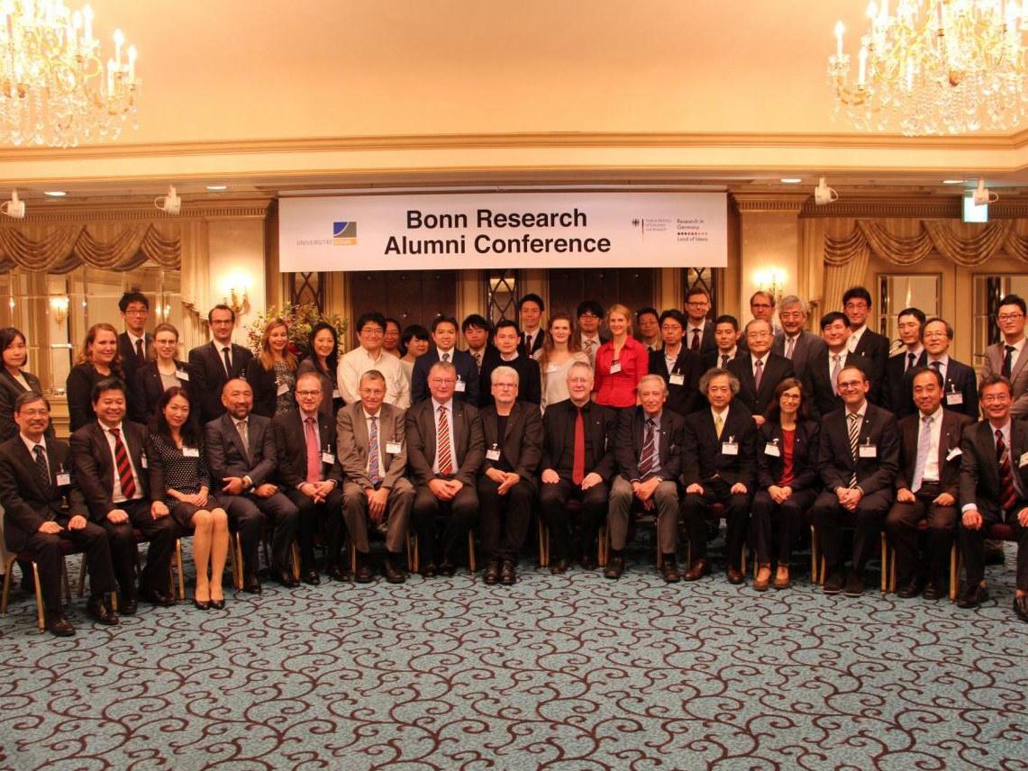 Alumni-Konferenz für Forscher: