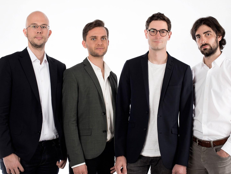 Das Cartwatch-Team (von links):
