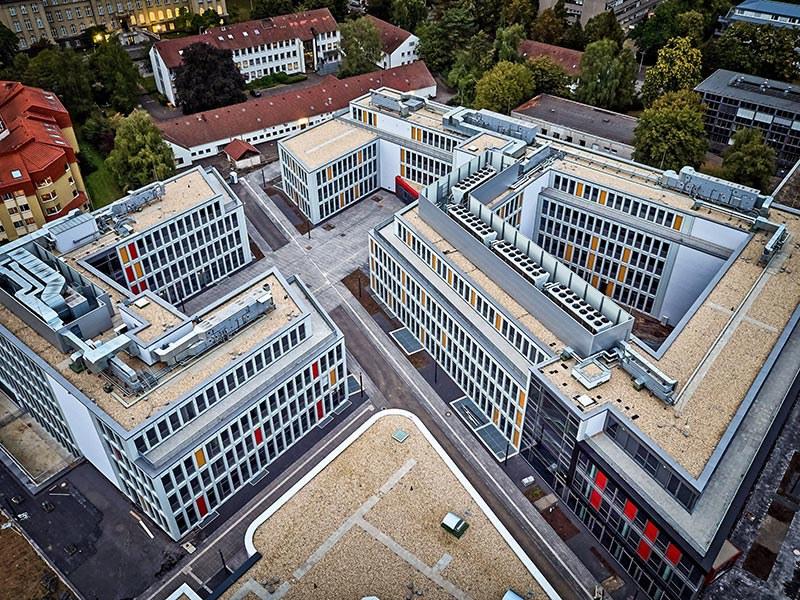 Luftbild Campus Poppelsdorf